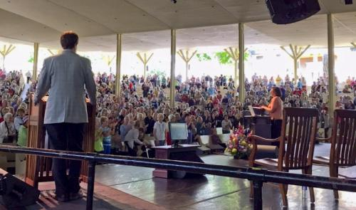 Speaking at Chautauqua Institute 2015.