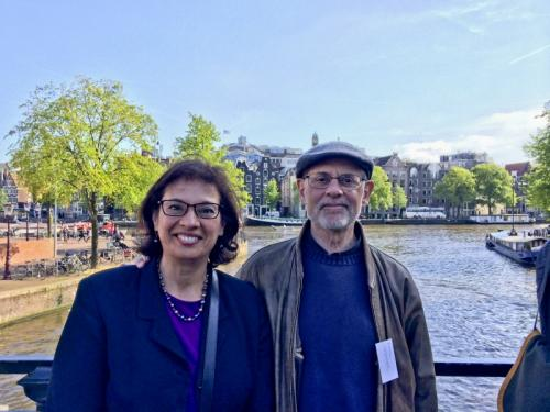 On the Amsterdam canals with Mark Kramer of Boston University