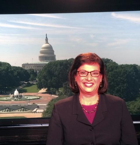 On air in Washington, D.C.