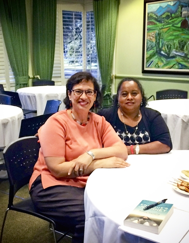 Lourdes and Sonia at Eckerd College in September 2014.