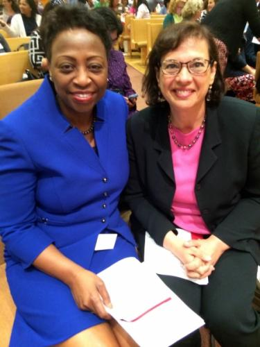 Spoke to Maryland educators, including State Superintendent of Schools Lillian Lowery, in May 2015