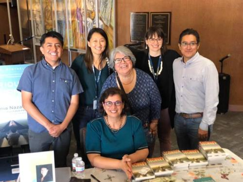 Sonia with East Los Angeles College English Faculty, April 2019.